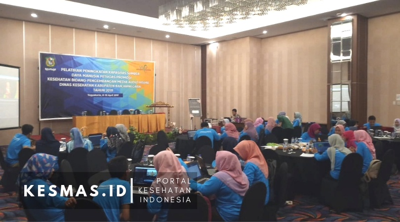 SDM Promkes Dinkes Banjarnegara Up Grade Skill Media Audio Visual