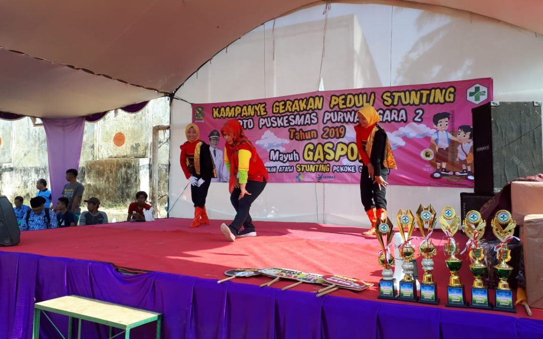 Gebyar stunting di Puskesmas Banjarnegara