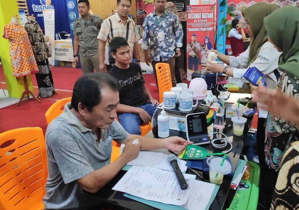 Pelayanan Puskesmas Punggelan 2 di Expo Banjarnegara 2020