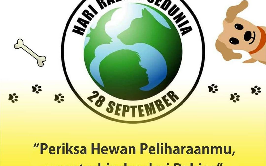Hari Rabies Sedunia 28 September 2020