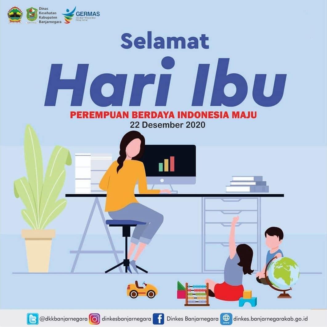 Selamat Hari IBU 22 Desember 2020 || Perempuan Berdaya Indonesia Maju