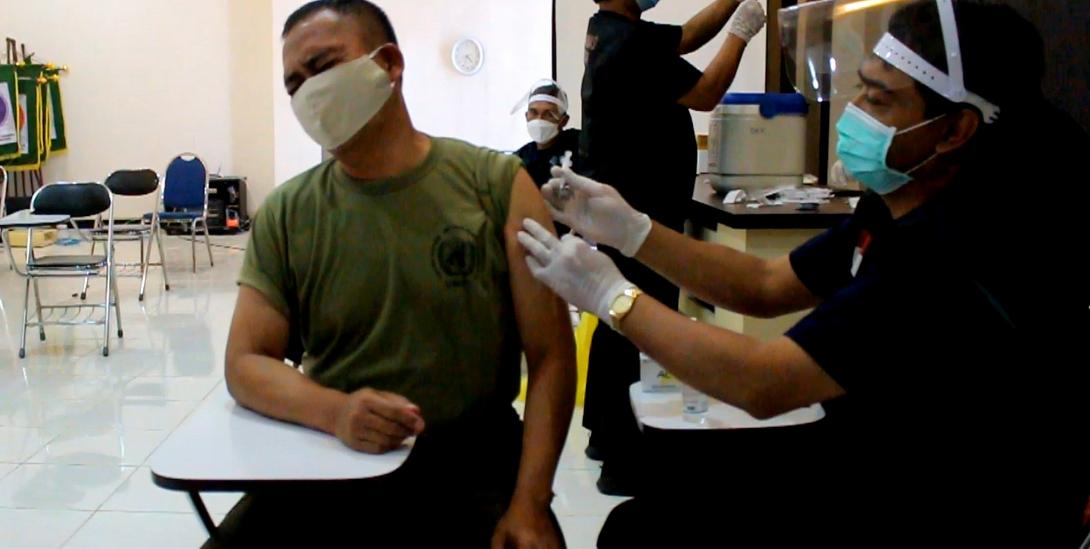 Pelayanan Vaksinasi Covid-19 di Dinas Kesehatan Kab. Banjarnegara